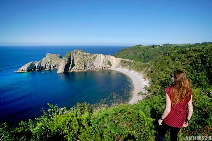 Mirador de la playa del Silencio en Asturias