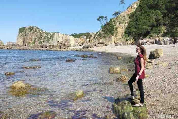 Playa Ribera del Molín, cerca de la playa del Silencio