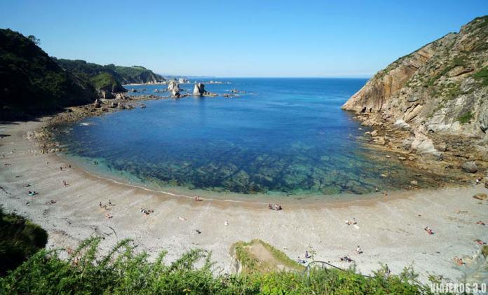 Cómo llegar a la playa de Silencio en Asturias