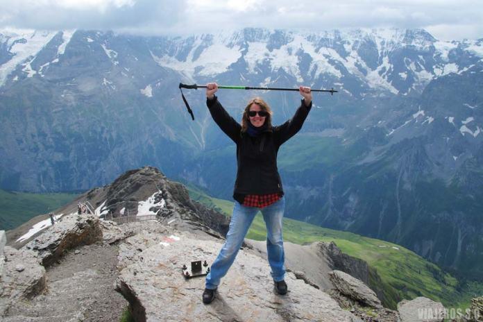 Schilthorn, que visitar en Suiza, ruta en una semana.