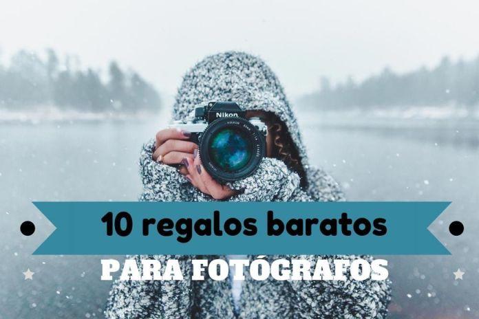 Regalos baratos para fotógrafos y aficionados a la fotografía