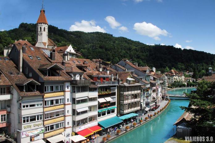 Thun, ruta por Suiza en una semana.