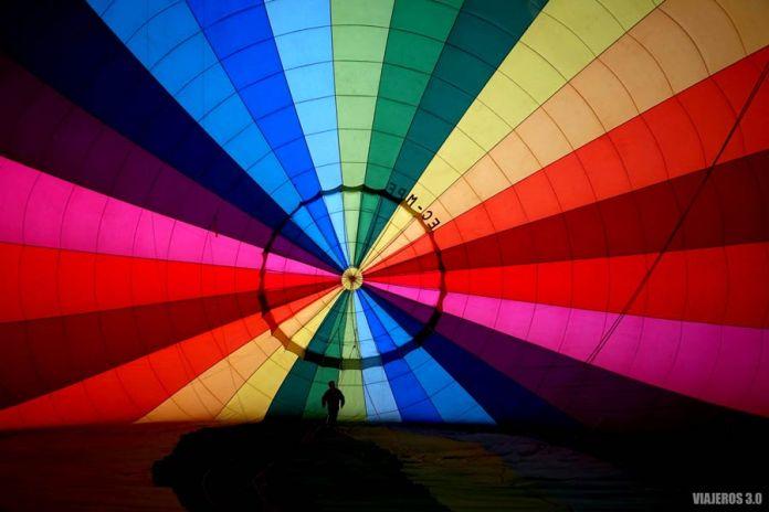 Volar en globo sobre los Castillos de Valladolid.