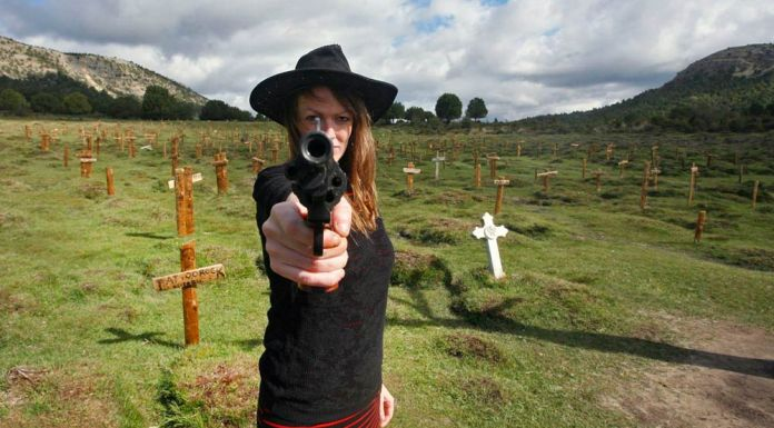 Cementerio de Sad Hill en Burgos