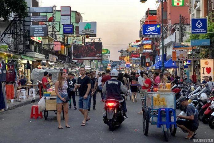 Khao San Road, ruta por Tailandia en 15 días