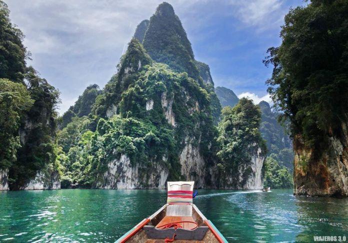 lagoCheow Lan, ruta por Tailandia en 2 semanas