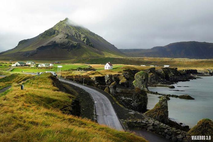 Arnarstapi, un imprescindible qué ver en la península de Snaefellsnes