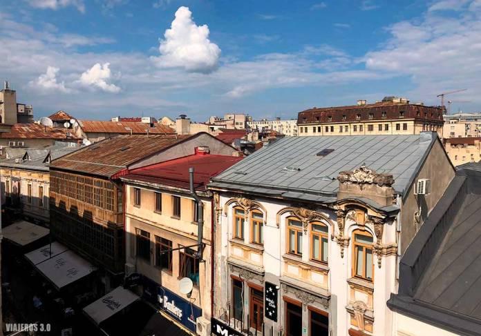 cómo ir del aeropuerto al centro de Bucarest, calles peatonales