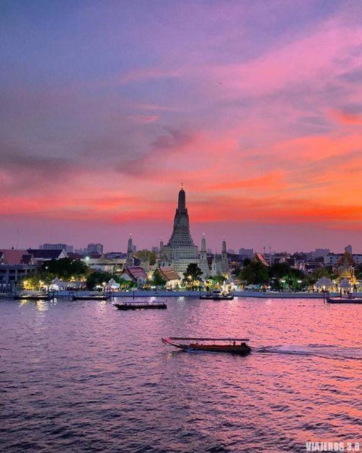 Wat Arun, ruta por Tailandia en 15 días