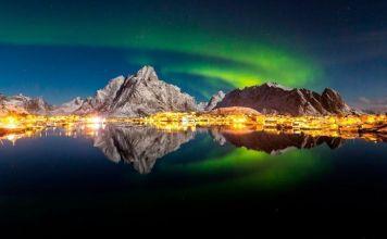 Lofoten, destinos para viajar a Noruega en invierno.