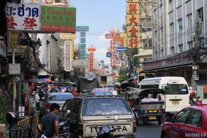 Chinatown, planes que hacer en Bangkok en 3 días.