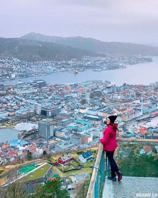 Teleférico de Floyen, qué ver en Bergen en un día