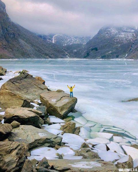 Folgefonna, ruta por el fiordo de Hardanger
