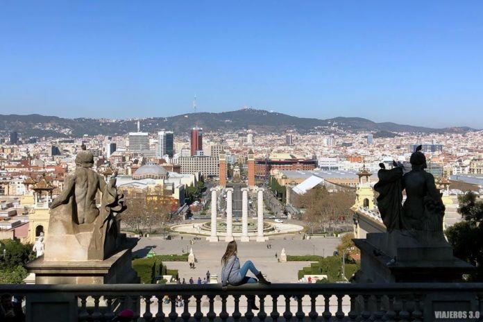 MNAC, miradores de Barcelona