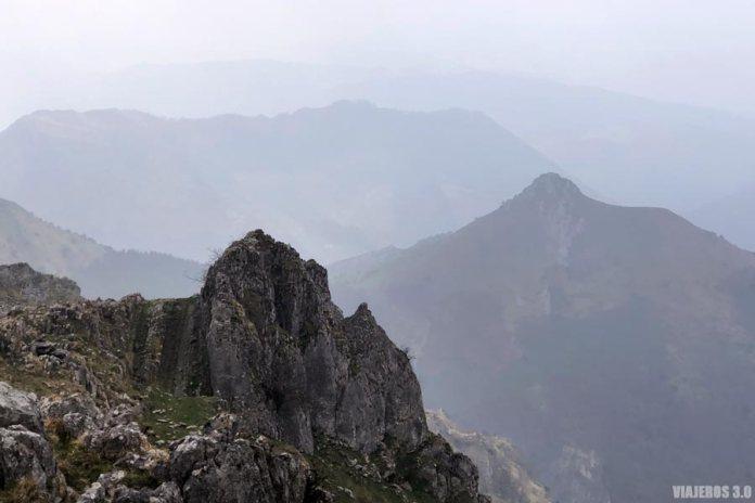 ascensión y ruta al Monte Txindoki