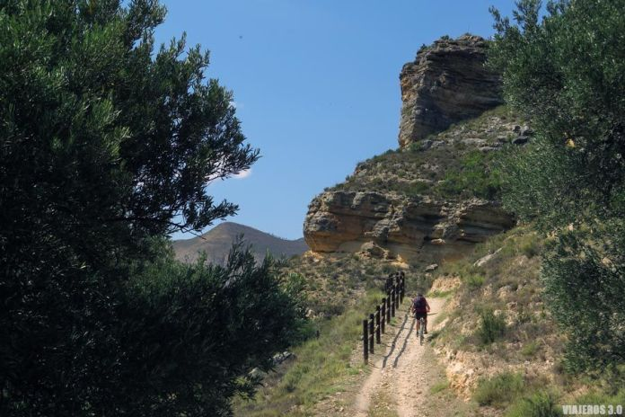 Camino Verde del Alhama en bicicleta.