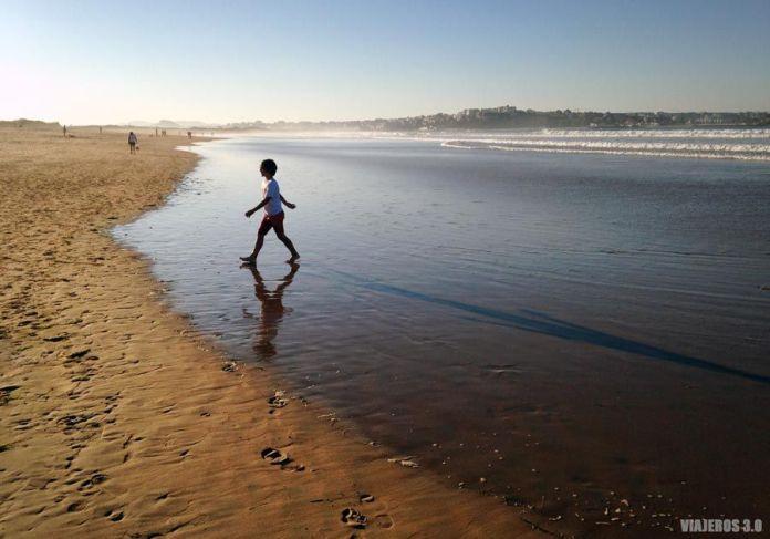 Playa de Somo cerca de Santander