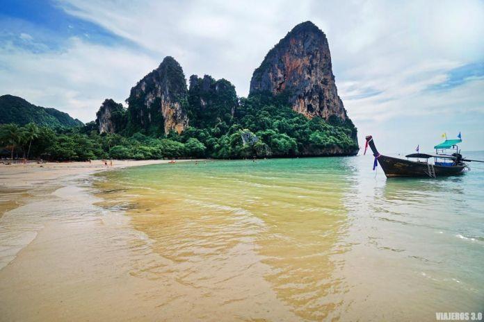 Playas paradisíacas de Railay, dónde alojarse en Krabi