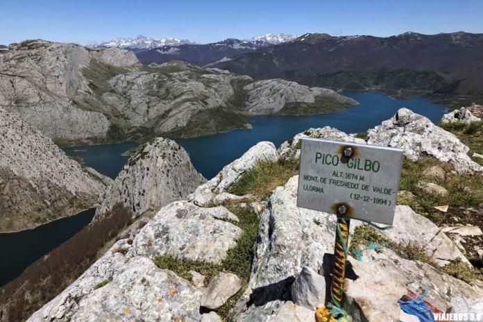Cumbre del pico Gilbo