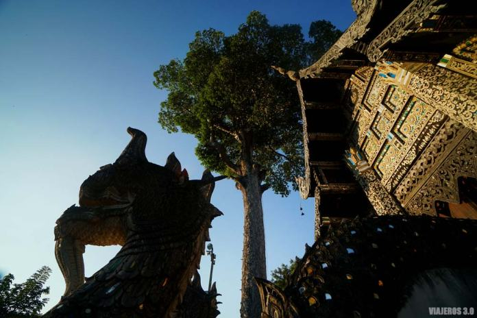 Templos budistas en Chiang Mai, Tailandia