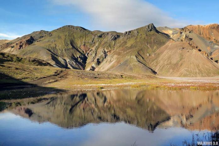 Paisajes en Landmannalaugar, Islandia.