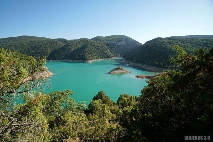Presa de Canelles en Huesca