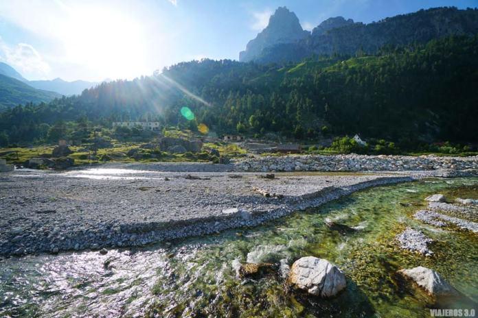 paisajes en los Alpes Albaneses