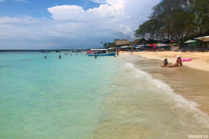playa Blanca en península de Barú