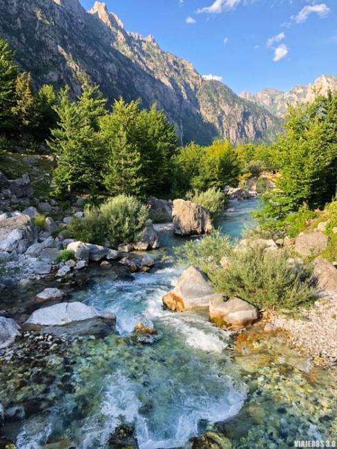 Parque Nacional de Valbona en Albania.