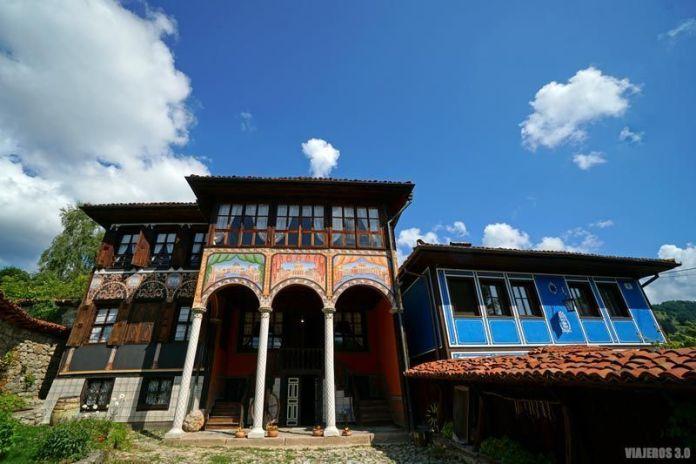 Arquitectura renacentista en Koprivshtitsa.