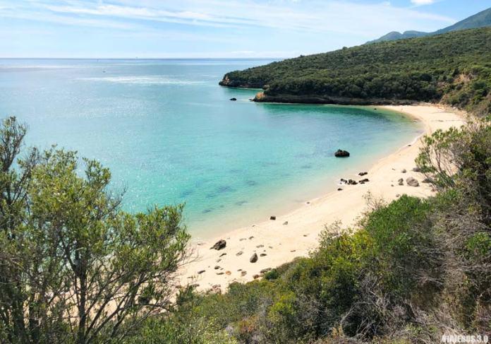 Playas de Setúbal, La Arrábida