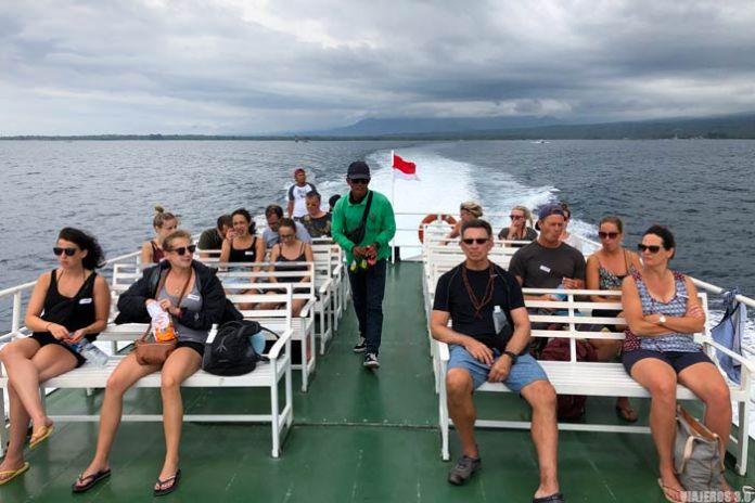 Fast boat de Bali a islas Gili