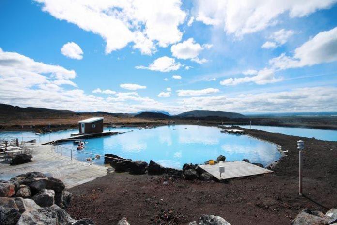 Baños termales Myvatn en Islandia