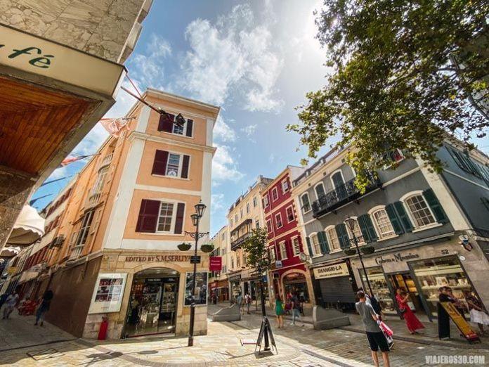 Main Street en Gibraltar.