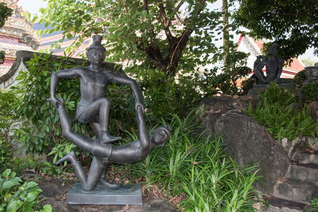 técnica masaje thai wat pho