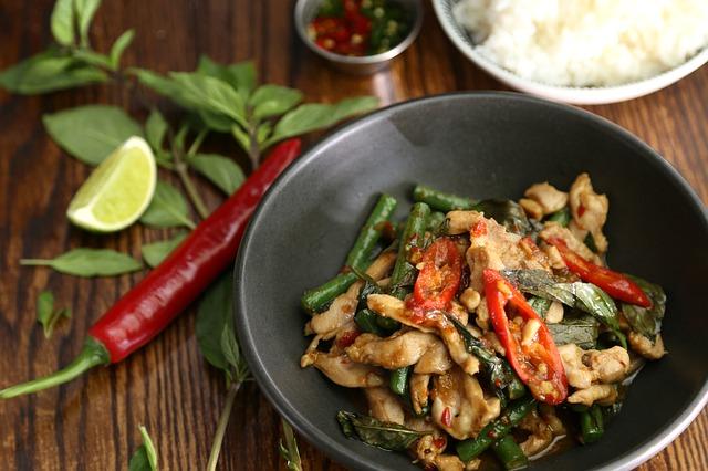 - comer sano en Tailandia