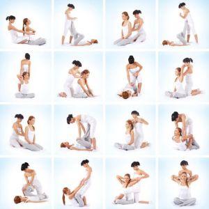 estiramiento masaje thai