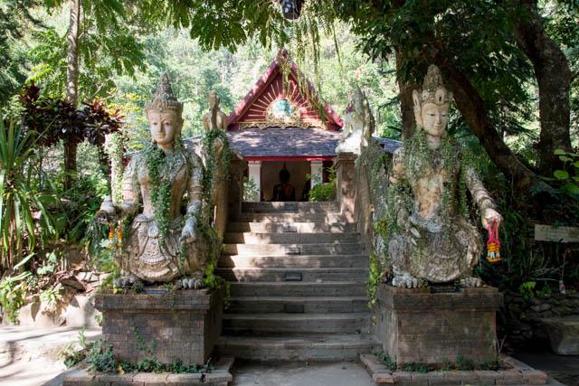 Sendero de los monjes Chiang Mai - Wat Pha Lat