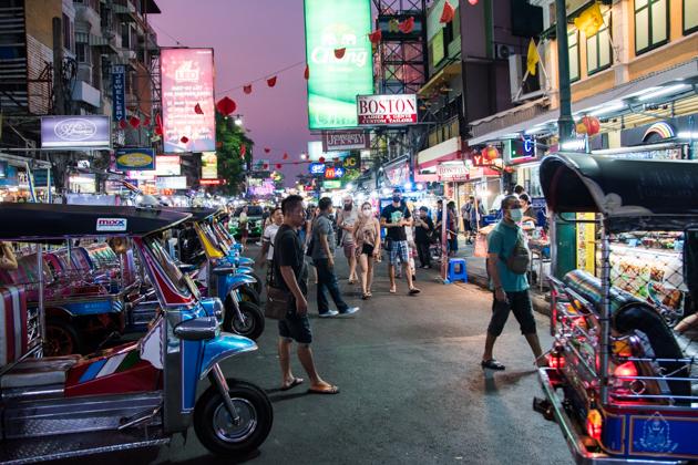 khao san road Bangkok - que ver en Bangkok