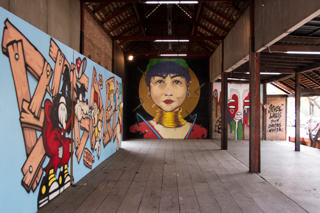 graffitis chiang mai - arte urbano