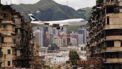 Photo of Antiguo Aeropuerto Internacional Kai Tak de Hong Kong.