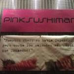 Dónde comer y gastronomía en Madrid (España) - Restaurante japonés Pink Sushiman. ViajerosAlBlog.com