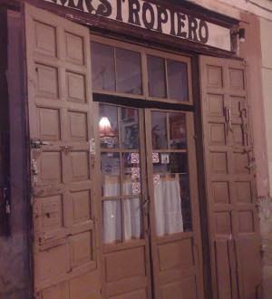 Dónde comer y gastronomía en Madrid (España) - Pizzería argentina Mastropiero. ViajerosAlBlog.com