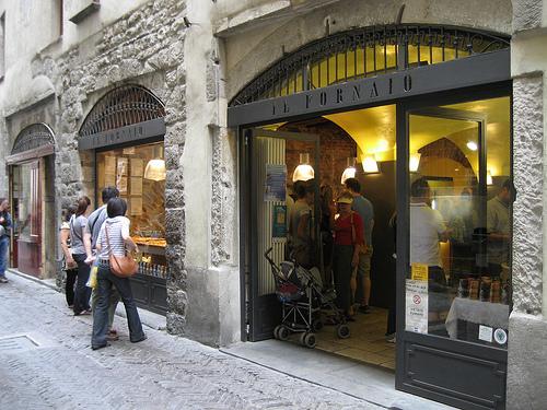 Dónde comer y gastronomía en Bérgamo (Italia) - Restaurante italiano Il Fornaio. ViajerosAlBlog.com