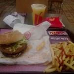 Bulgogi Burger de Mc Donald's en Corea del Sur. ViajerosAlBlog.com