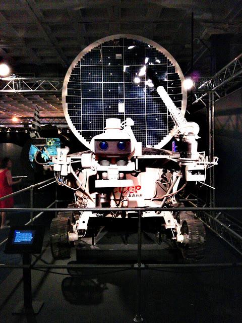 Exposición NASA: la aventura del espacio, en Madrid.