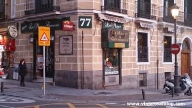 Dónde comer y gastronomía en Madrid (España) - Cervecería La Mayor. ViajerosAlBlog.com