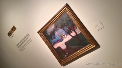 Exposición Edvard Munch: Arquetipos. Museo Thyssen-Bornemisza en Madrid.