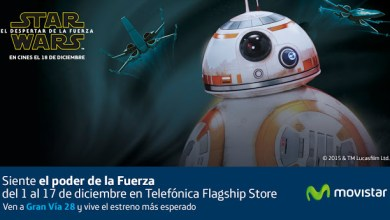 Exposiciones Star Wars en Madrid: Star Wars Telefónica, Face the Force, Lego Star Wars: el Despertar de las Piezas, y Universo Star Wars. ViajerosAlBlog.com