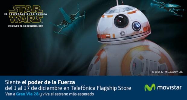 Exposiciones Star Wars en Madrid: Star Wars Telefónica, Face the Force, Lego Star Wars: el Despertar de las Piezas, y Universo Star Wars